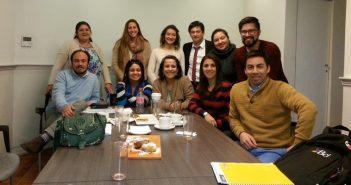 El grupo de estudiantes de la 5a. versión del Diplomado