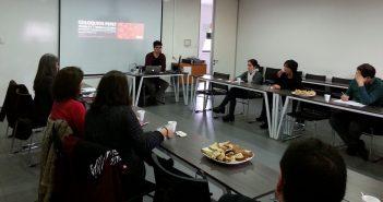 """Dr. Pablo Rojas inaugura coloquios con su exposición sobre """"La pertinencia y sentido de la pregunta por el oficio"""""""